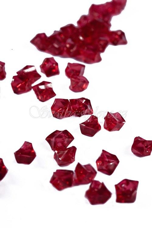 Červené krystalky, 50ks