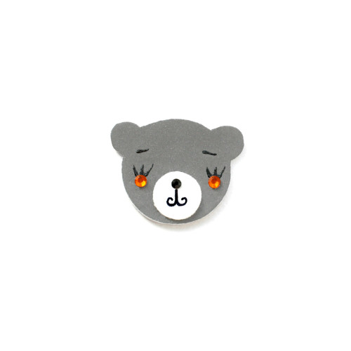 Reflexní brož medvídek Zdeněček