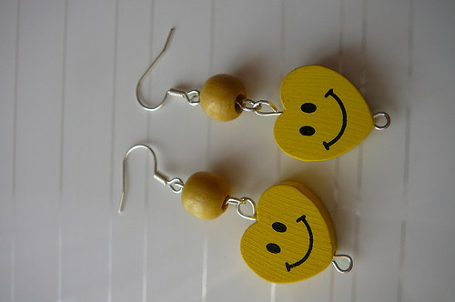 Veselá srdíčka-žluté