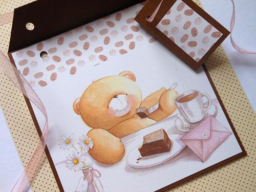 Medvědí mlsání II -  obal na CD 13x14 cm