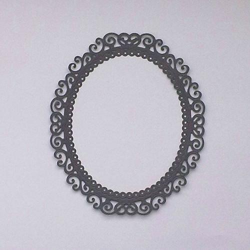 Ornamentální rámeček - kouzelné zrcadlo