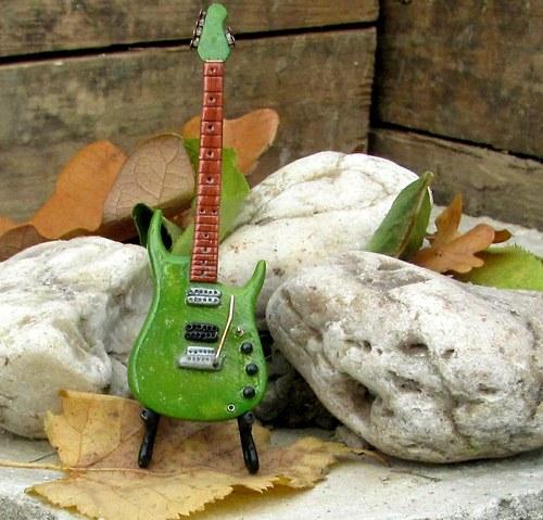 Kytara Music Man John Petrucci green