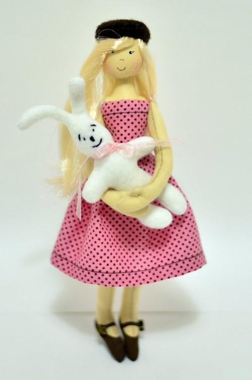 Balíček pro výrobu Malé panenky - Dekor Velikonoce