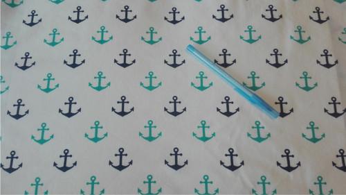 Námořní a tyrkysové kotvy