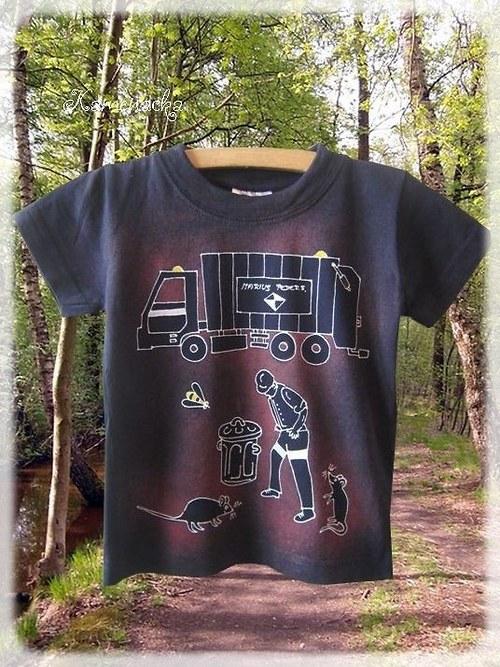Dětské tričko popeláři :-)