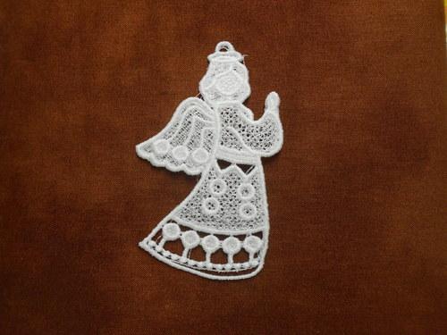 Vánoční ozdoba andělíček AP1394010