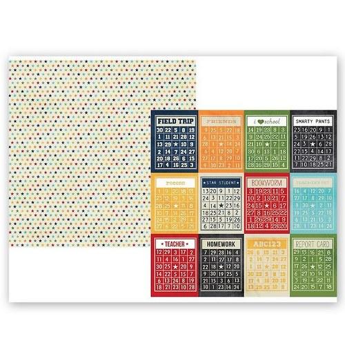 Scrapbookový papír SS / 3x4 / Smarty Pants Bingo