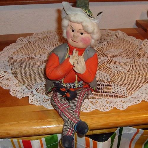 Stara textilni figura