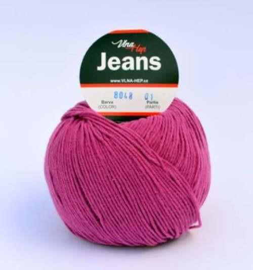 Jeans cyklámen 8048