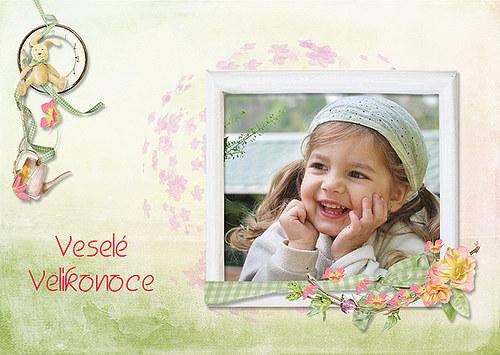 Originální velikonoční pohlednice