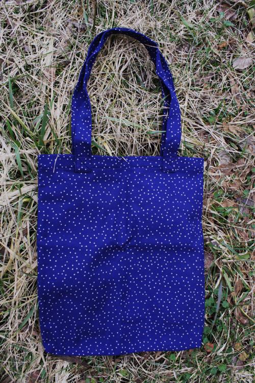 Plátěná taška Noční obloha