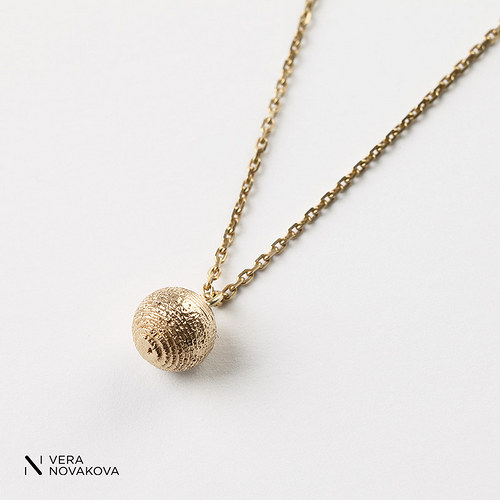Náhrdelník Kulička - zlato