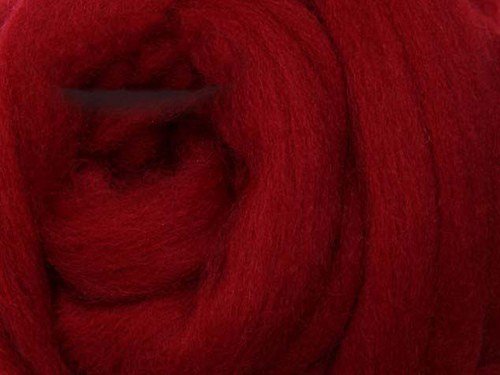 Česanec Merino Cherry Red 20 g