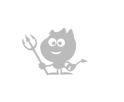 Nažehlovačka - reflexní čertík bertík