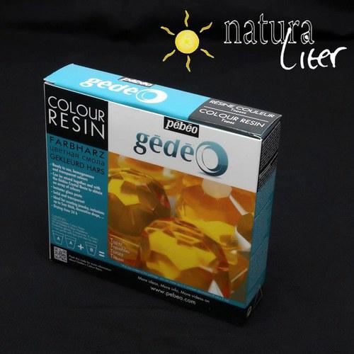 Výprodej Křišťálová pryskyřice Gédeo barevná-žlutá