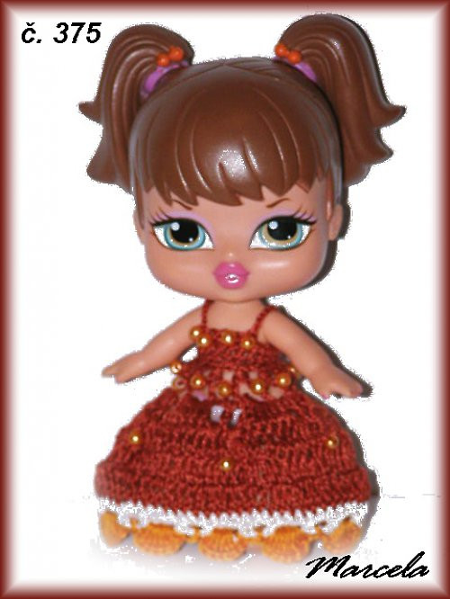 šatičky na bratz babyz panenky mini