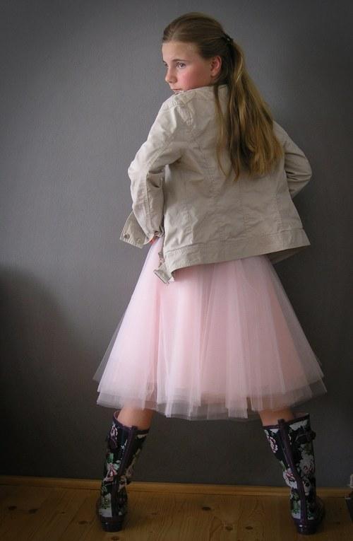 Lady pink na přání ..délka 50 cm