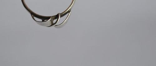 Něžně - prsten Ag III