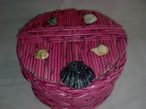 Šperkovnice-růžová