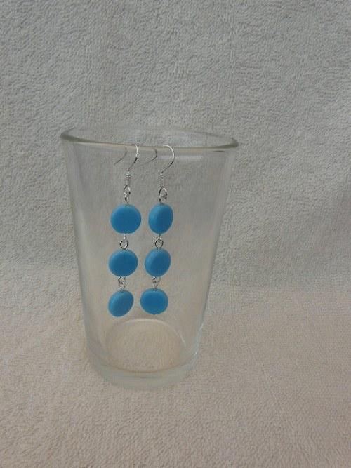Modré kolečkové