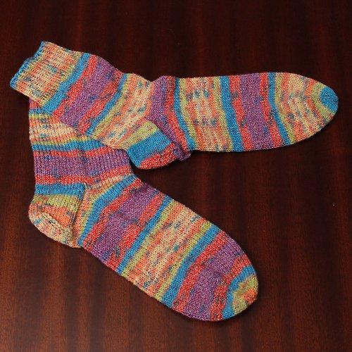 Ponožky na nožky 36/37 - Duha