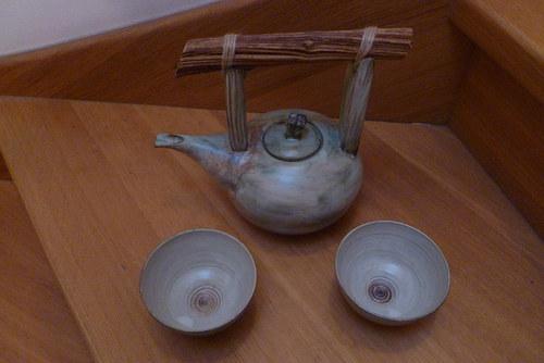 Přátelská čajová souprava