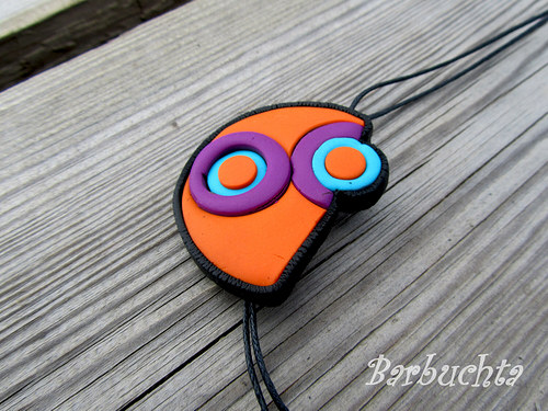 Náhrdelník Orange Circle