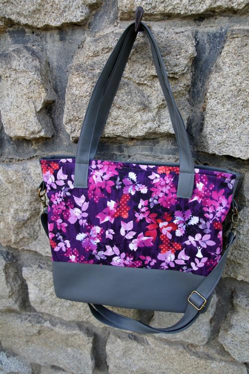Fialová taška