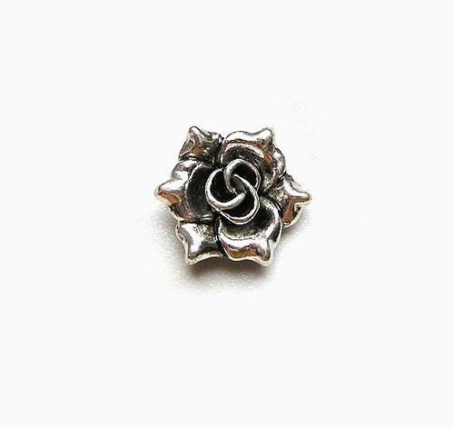 Přívěsek, květ, 20 mm - 1 kus