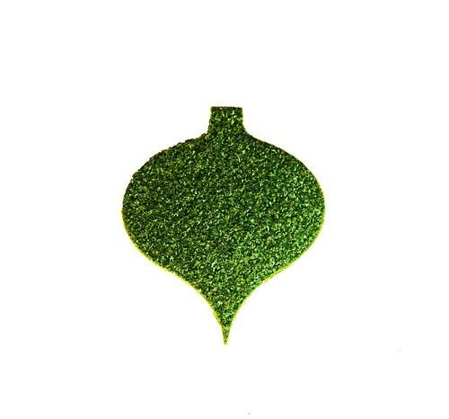 Vánoční baňka třpytivá (menší)