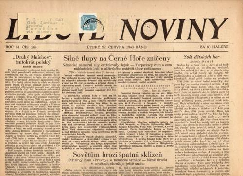 černé hlasy noviny