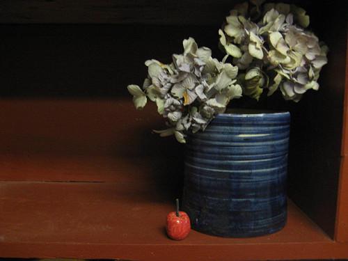Váza Modrá