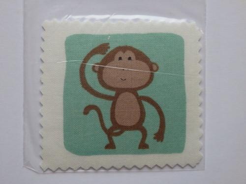 Aplikace / nášivka Zvířátka - Opice
