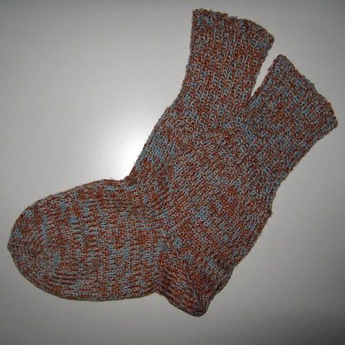 Pletené ponožky 39-42