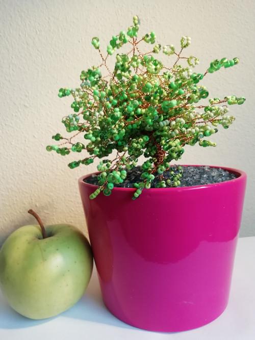 Korálkový stromek