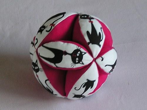 Japonský balonek - Pink Cats