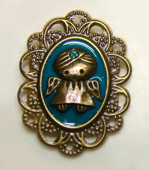 Celestýn - maličká andělská brožka