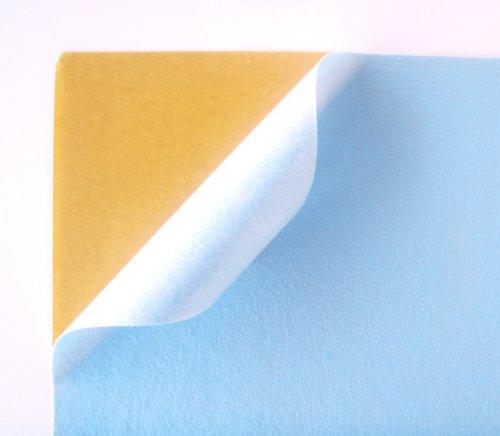 Samolepicí plsť barva č. 2 - světle modrá