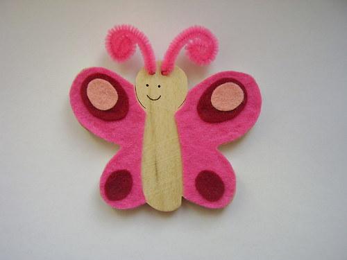 ŠIKULKA - Motýlek Emílek růžový
