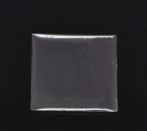 EPOXY čočky 25x25 mm - 10 ks