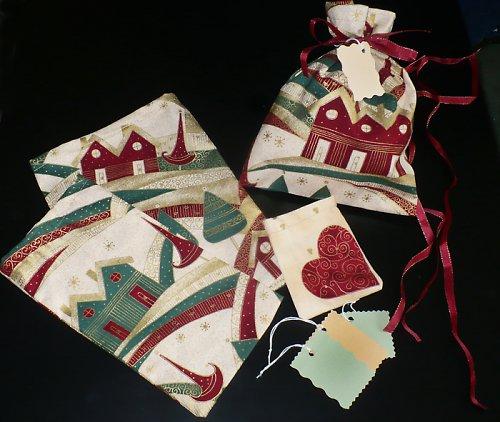 vánoční balící set