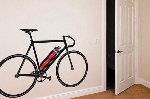 """Jízdní kolo \""""Bike don\'t drive\"""""""