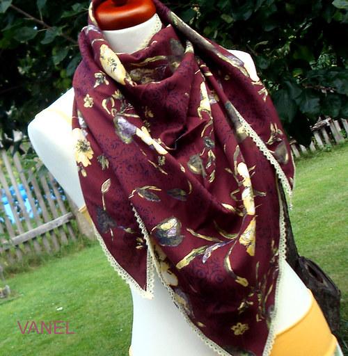 Velký bavlněný šátek