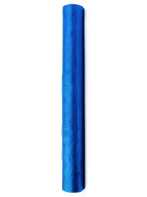 Organza 36 cm x 9 m TMAVĚ MODRÁ NEOBŠITÁ