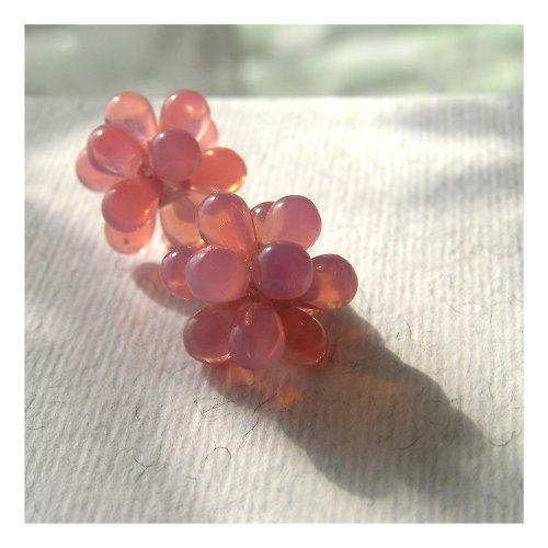 Bublinky růžový opál