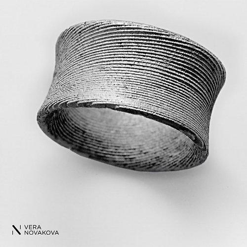 Prsten Egoist stříbro