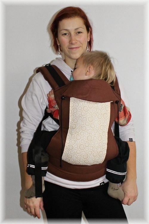 Ergo. nosítko na děti - SPIRÁLY :)
