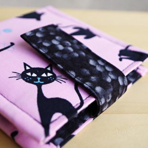 Černá kočka... pouzdro na karty
