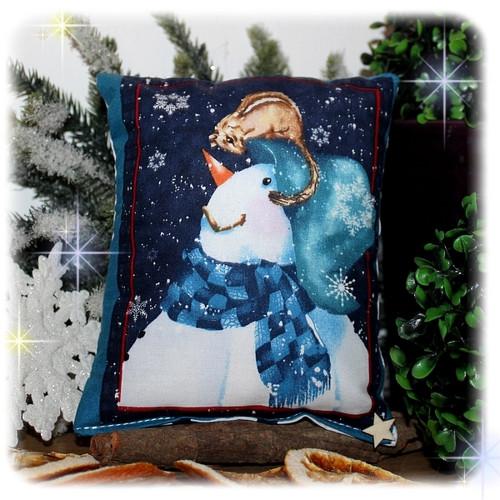 Malý vánoční dekorační polštářek