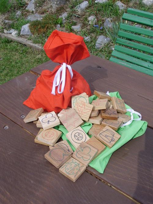 Dřevěné pexeso